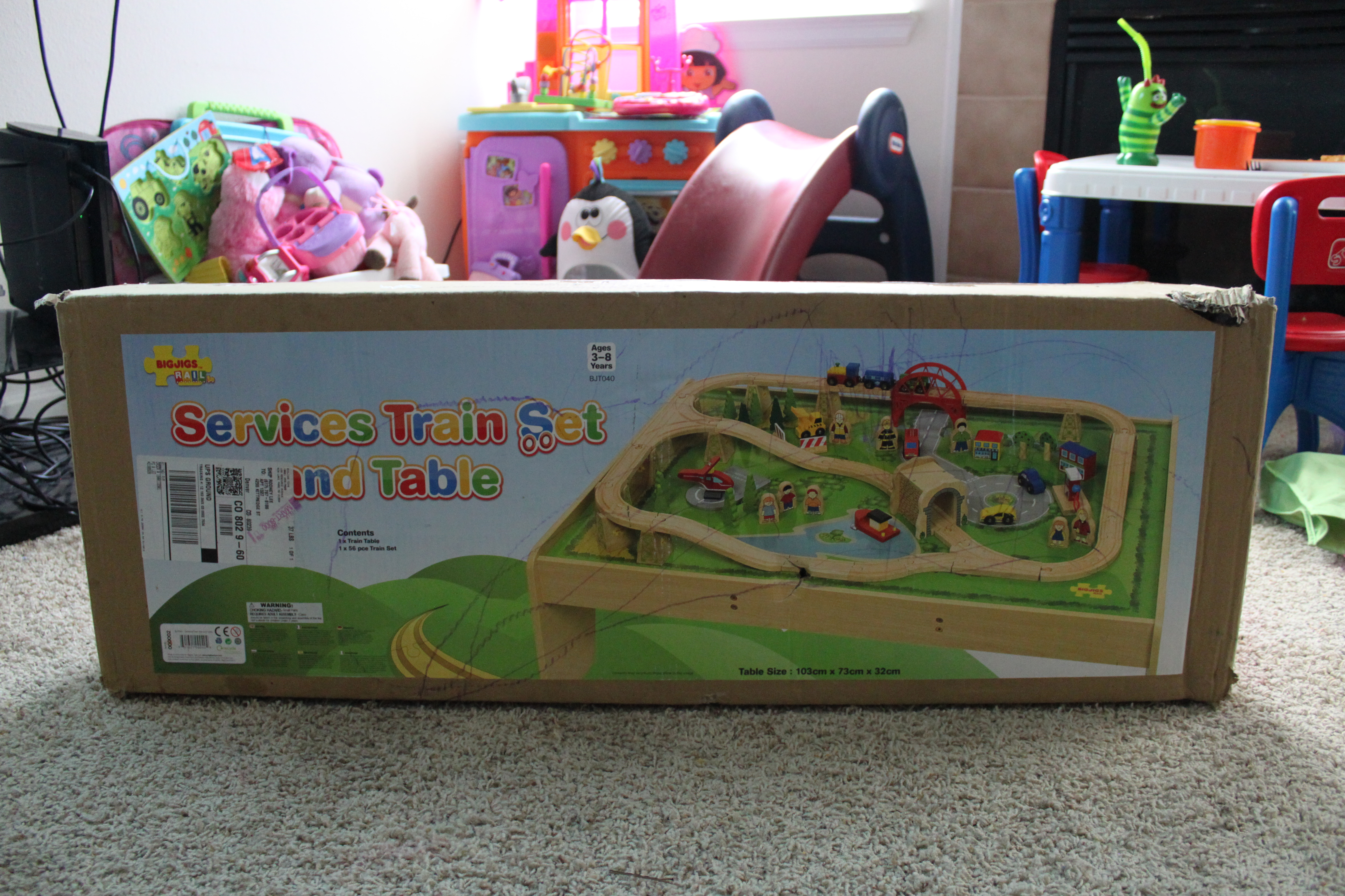 BigJigs Train Set & Table - Review - The Denver Housewife