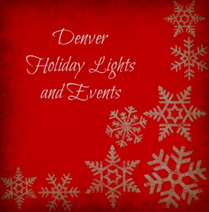 Denver Colorado Holiday lights