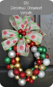 diy christmas ornamnent wreath