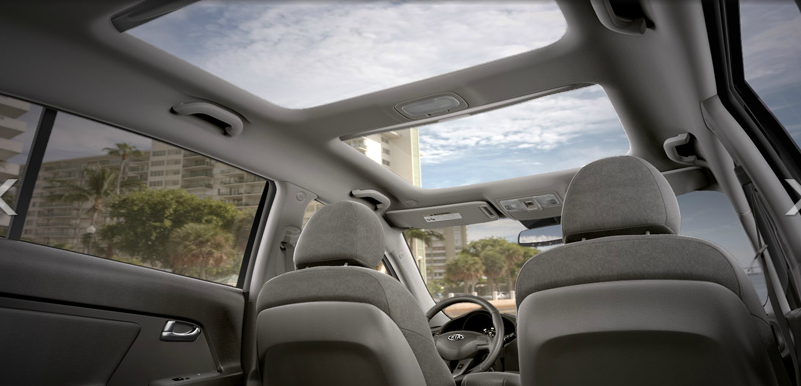 2012 kia sportage panoramic roof