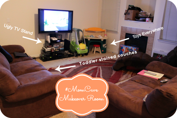 #momcave makeover room