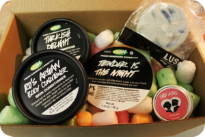 Lush Cosmerics Be Mine Box