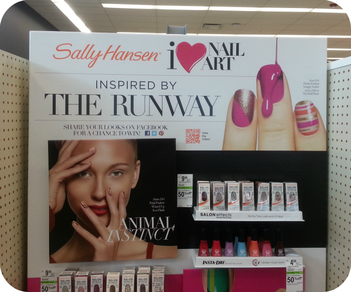 Sally Hansen Runway inspired nails