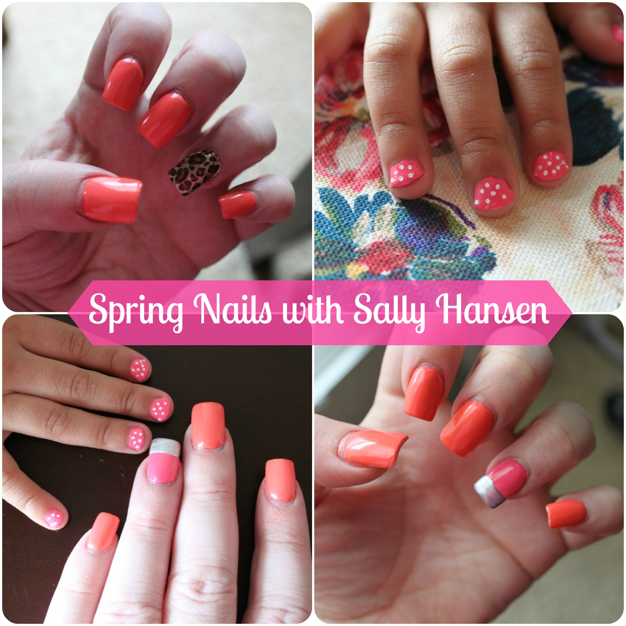 Runway inspired nails with Sally Hansen