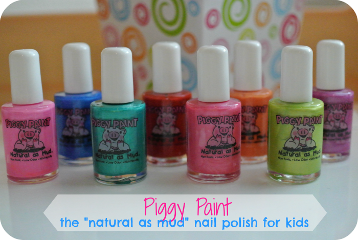 Piggy Paint: The Natural as Mud Nail Polish for Kids! - The Denver ...
